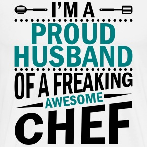 I 'm a proud chefs husband - KOCH - Men's Premium T-Shirt