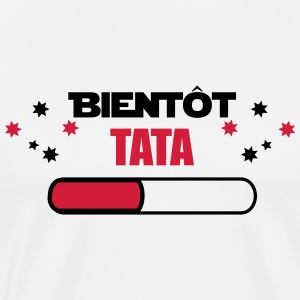Soon TATA - AUNT FUTURE - Men's Premium T-Shirt
