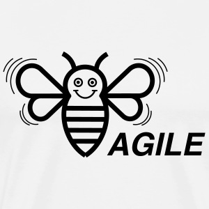 (E) Agile - Men's Premium T-Shirt