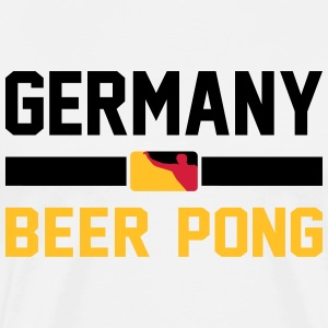 Germany Beer Pong - Männer Premium T-Shirt