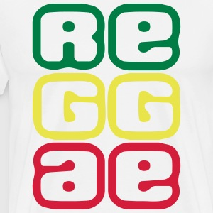 080 reggae - Men's Premium T-Shirt