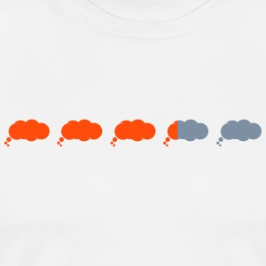 Thinking is loading graphic cloud style - Men's Premium T-Shirt