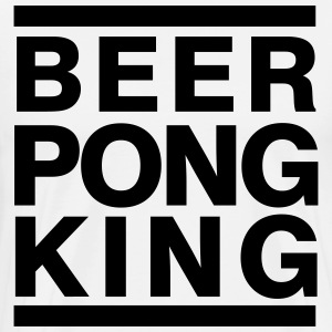 BEERPONG KING - Men's Premium T-Shirt