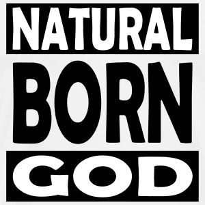 Natural Born Gud - Premium-T-shirt herr
