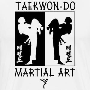 Taekwondo Martial Art for Girls - Men's Premium T-Shirt