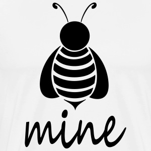 Bee_mine - Mannen Premium T-shirt