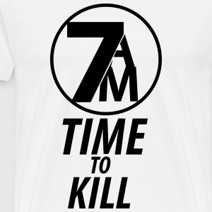 TIME TO KILL - Mannen Premium T-shirt