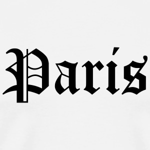 Paris - Herre premium T-shirt