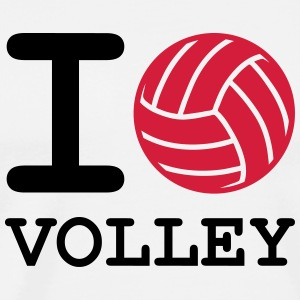 i love volley ball - T-shirt Premium Homme