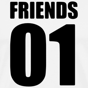 Vrienden shirt - de beste vriend - Best Friends Shirt - Mannen Premium T-shirt