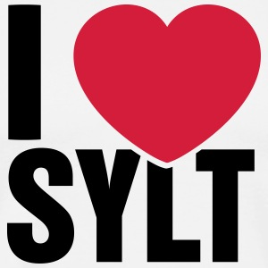 I love Sylt - Men's Premium T-Shirt