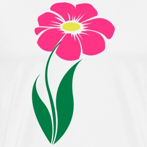 flower pink - Men's Premium T-Shirt