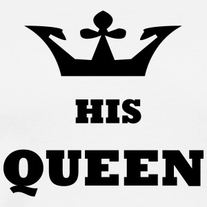 His_Queen roi et la reine - T-shirt Premium Homme