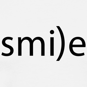 smile emoticon la smile laugh fro hlich positive - Men's Premium T-Shirt