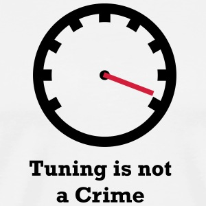 Tuning is geen Misdaad - Mannen Premium T-shirt