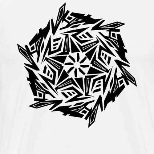 hardtekno generator - Männer Premium T-Shirt