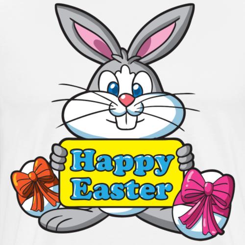 Easter Bunny Happy Easter - Men's Premium T-Shirt