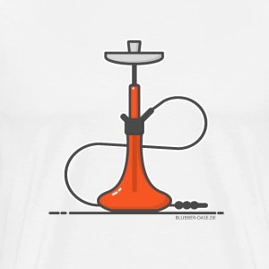 Shisha Red 01 - Men's Premium T-Shirt
