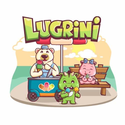 Lugrini und Lugrina essen ein Eis..oder auch zwei. - Männer Premium T-Shirt
