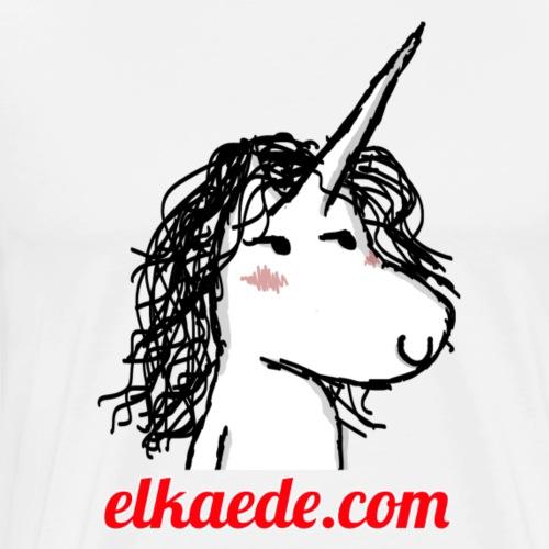 Kaede la Licorne - T-shirt Premium Homme