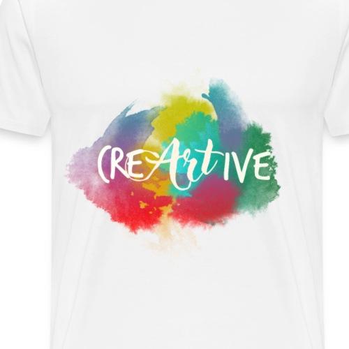 CreArtive Aquarell - Männer Premium T-Shirt