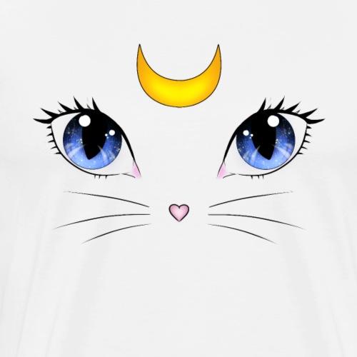 Sailor Moon Artemis - Männer Premium T-Shirt