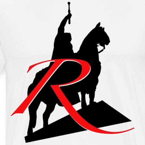 R wie Regensburg: Ludwig I. - Männer Premium T-Shirt