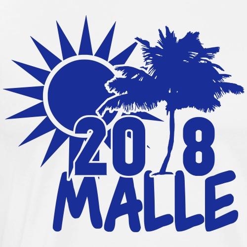 Mallorca Malle Palmen Saufen Trinken Geschenk - Männer Premium T-Shirt