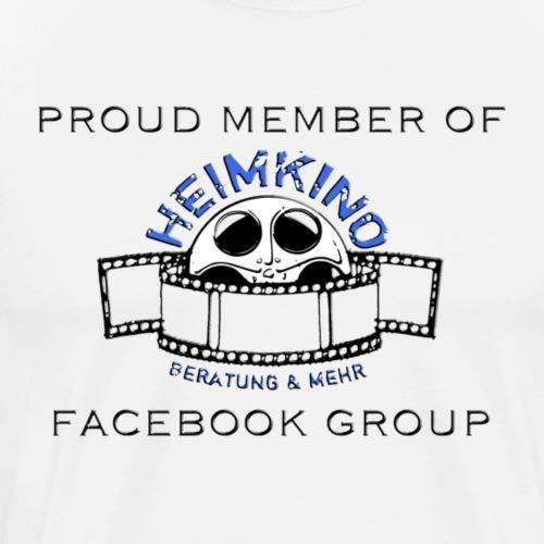 H B M Shop Logo Proud Member of Schwarz - Männer Premium T-Shirt