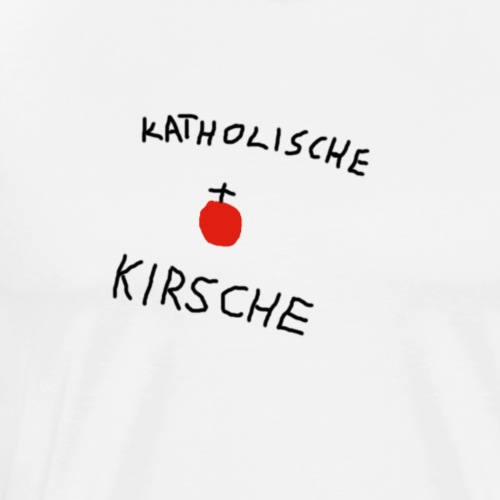 Katholische Kirsche - Männer Premium T-Shirt