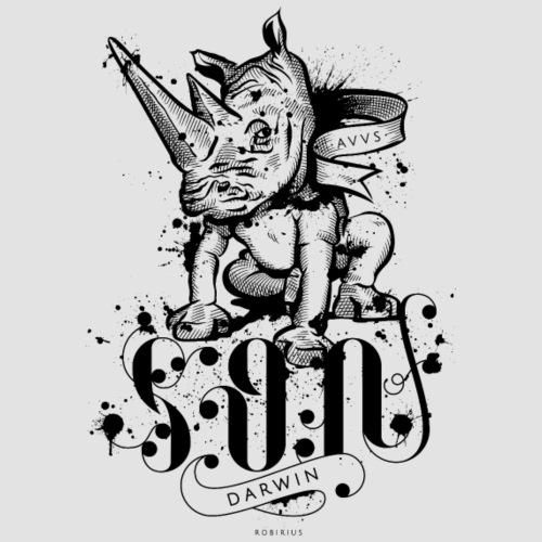 Rinoceronte - Maglietta Premium da uomo