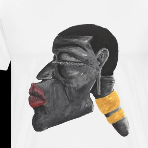 Lady Afrika - Männer Premium T-Shirt