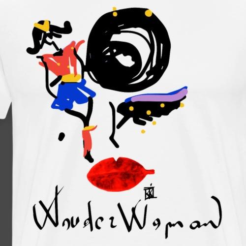 FACCE_DI_MòKIKA_WW - Maglietta Premium da uomo