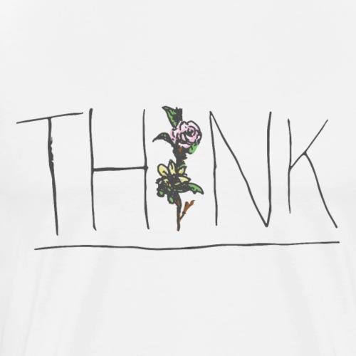 THINK - Men's Premium T-Shirt