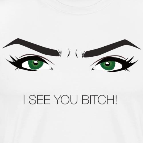 Green Bitch - Männer Premium T-Shirt