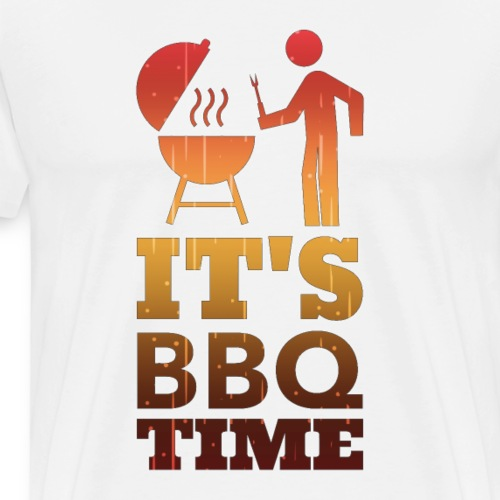 It's BBQ Time - Mannen Premium T-shirt