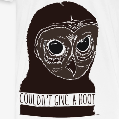 Not a hoot - Men's Premium T-Shirt