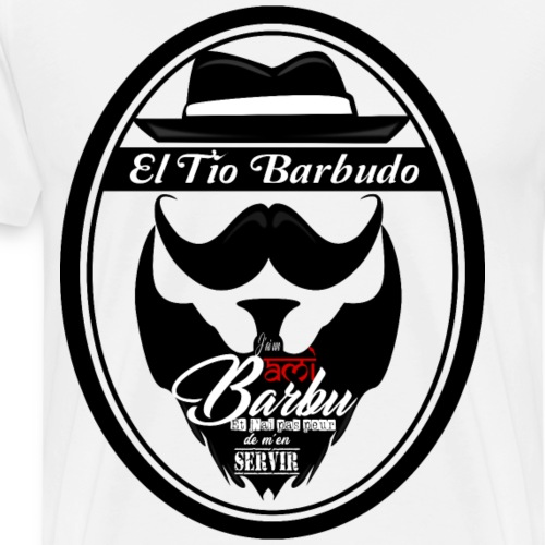 Ami barbu... - T-shirt Premium Homme