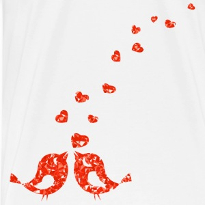 love birds - Men's Premium T-Shirt