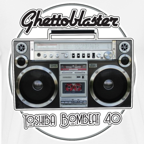 Toshiba RT-S913 BomBeat 40 Boombox - Männer Premium T-Shirt