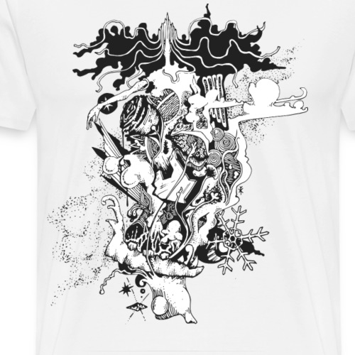 Snow Queen - Männer Premium T-Shirt