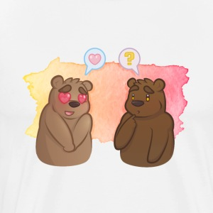Bear Crush - Mannen Premium T-shirt