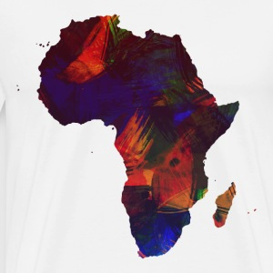 SMUKKE AFRIKA COLLECTION - Herre premium T-shirt