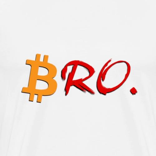B.RO - Bitcoin - Männer Premium T-Shirt