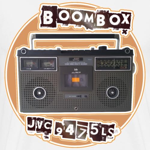 JVC 9475 LS Boombox Ghettoblaster - Männer Premium T-Shirt