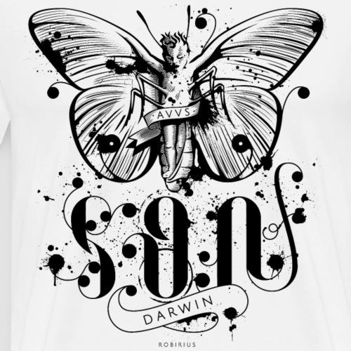 Farfalla - Son of Darwin - Maglietta Premium da uomo