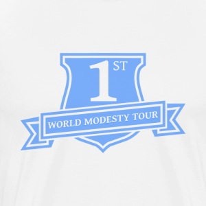 World Modesty Tour - Men's Premium T-Shirt
