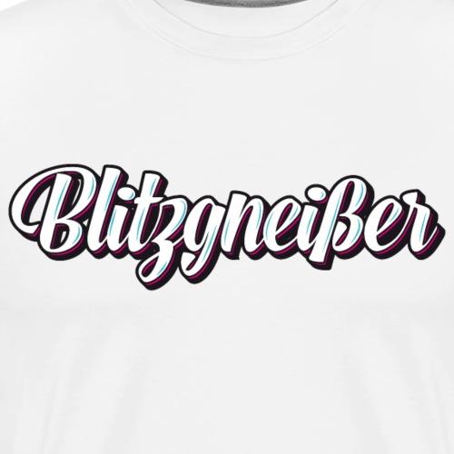 Blitzgneisser - Männer Premium T-Shirt
