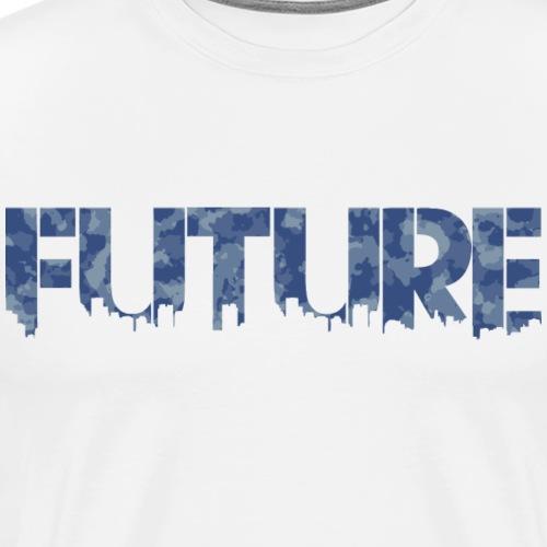 Future Water Camouflage - Herre premium T-shirt