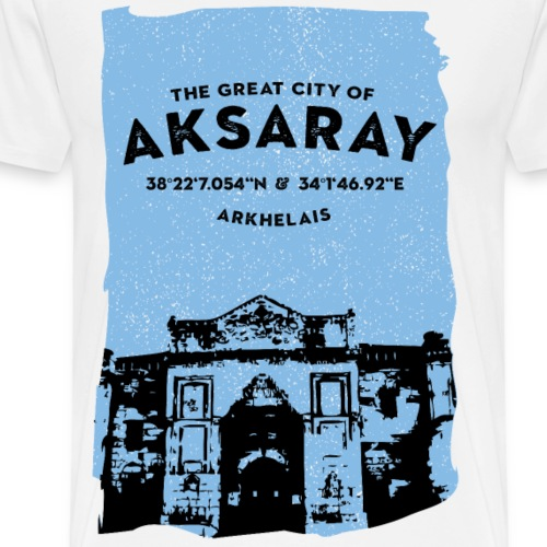 City of Aksaray - Männer Premium T-Shirt
